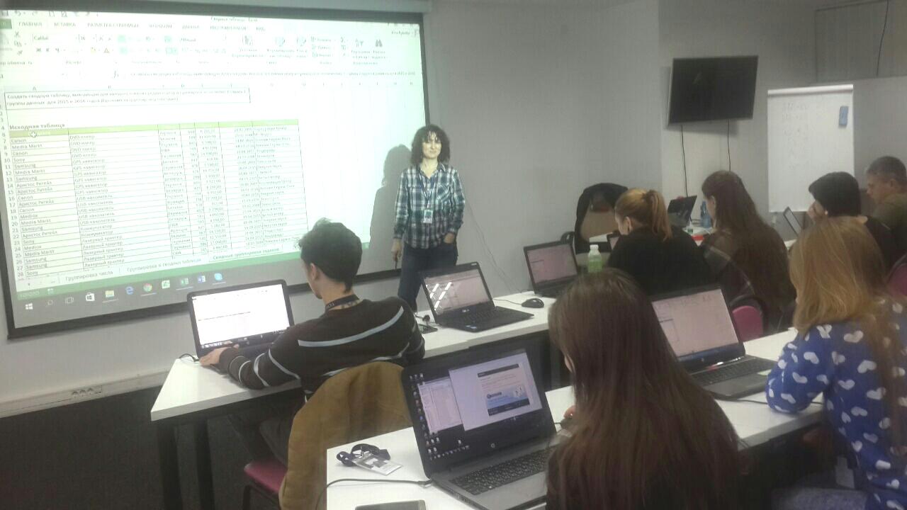 Корпоративное обучение MS Excel